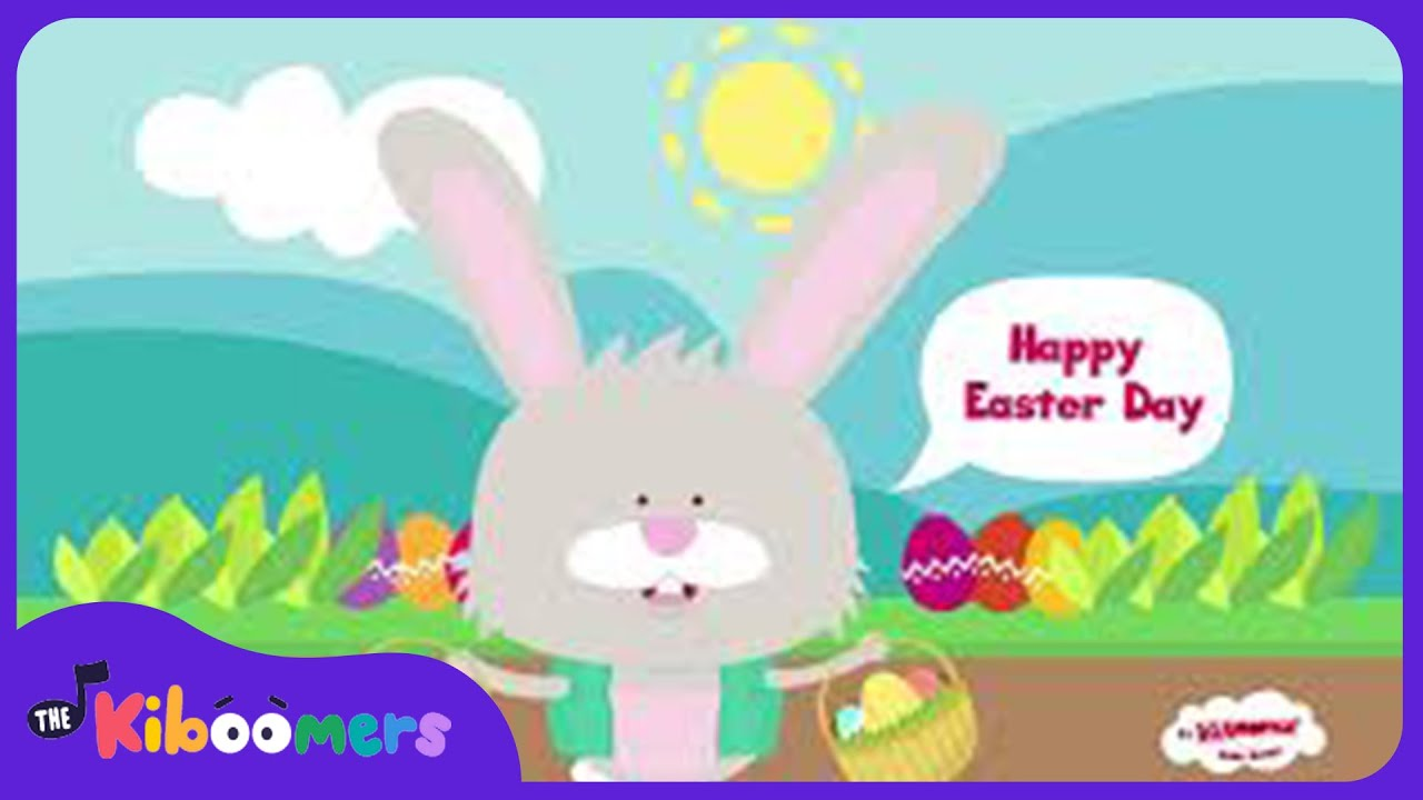 Here Comes Peter Cottontail | Easter Song for Kids | Bunny Song ...