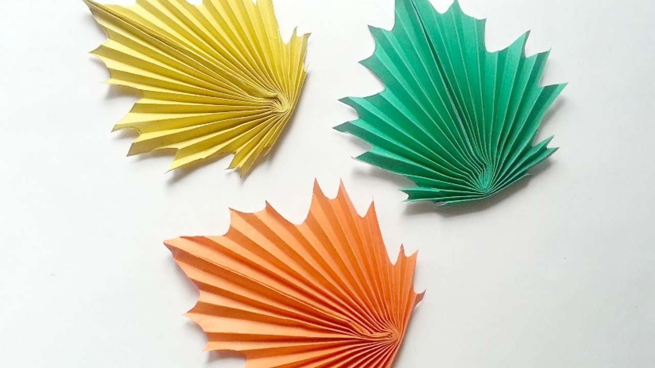 fall origami instructions - Google Search | 紅葉 折り紙 | 720x1280