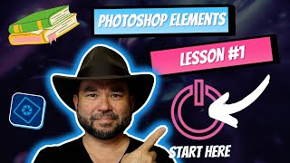 learn photoshop elements lesson 1 the beginning