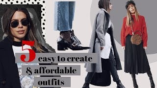 5 Simple and Stylish Outfits for Winter