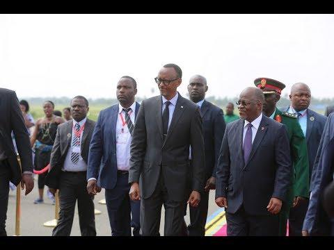Live: Rais Kagame Akiondoka Nchini Tanzania Mchana Huu