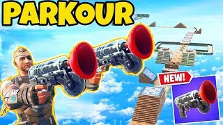 ENTERHAKEN PARKOUR in Fortnite! | Fortnite Battle Royale