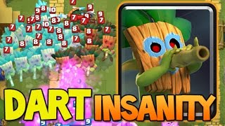 DART GOBLIN INSANITY !! Unstoppable challenge ! Clash Royale World Record
