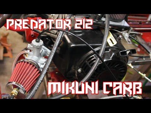 Engine Top Plate Master Kit Mini Bike Predator 212cc NON HEMI  Racing Karts