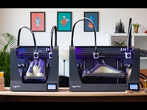 0 - BCN3D stellt neuen Sigma & Sigmax R19 3D-Drucker vor