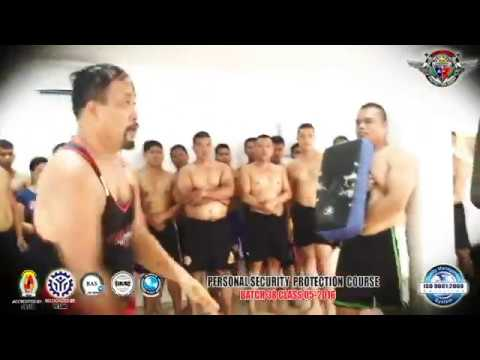 NUNCHAKU STEEL TRAINING, MARTIAL ARTS, FIRING COMPETITION OF PA BATCH 38