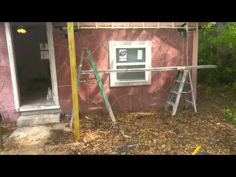 Small stucco job out in st pete Florida