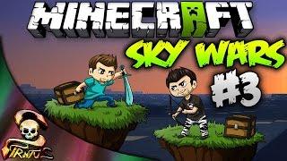 Minecraft | Sky Wars!!! Pero muerete!!!! Y no se muere!!!!! | Stratusferico
