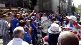 Harthill Loyalist Flute Band @ Uefa Cup Final