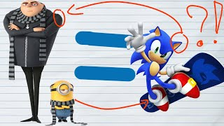 Sonic is Gru from Despicable Me?!? - Isaak plays Despicable (sonic) forces in roblox!!!!