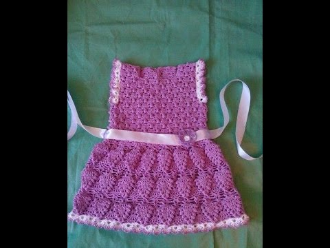 Crochet Patterns For Lacy Crochet Baby Dress Pattern 57 Youtube