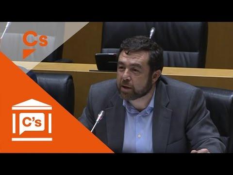 Miguel Gutiérrez. Comisión de Interior en Congreso Diputados