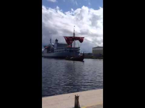 Viking longboat Draken Harald