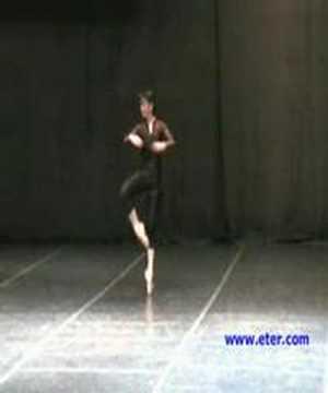 www.eter.com  - Tamara Rojo - Fouettes en el Teatro de Madrid 2005