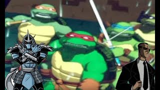 TMNT 3: Mutant Nightmare: ALL Boss Battles | Hard Difficulty