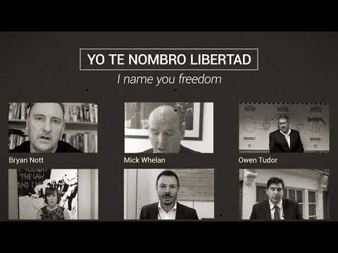 Justice for Colombia free Huber campaign
