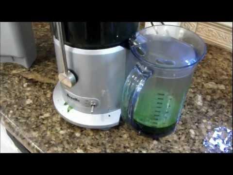 Juicing Leafy Green Vegetables with a Breville Juicer