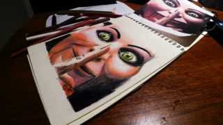 Dead silence Drawing Time-lapse