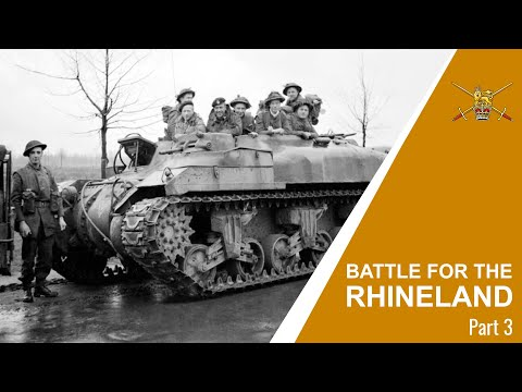 Battle For The Rhineland PART 3 Documentary – Operation Blockbuster – Final Moves
