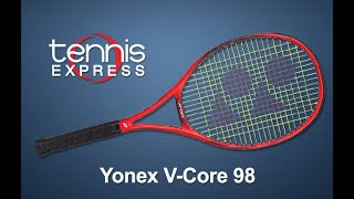 Yonex V-Core 98 Tennis Racquet Review | Tennis Express