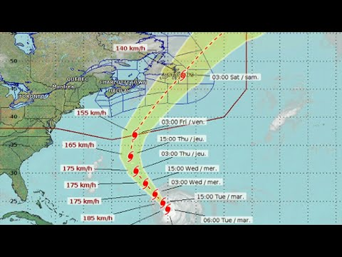 Some modelling warns Hurricane Larry could hit Newfoundland