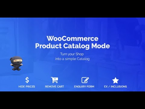 WooCommerce Catalog Mode Plugin | Hide Prices & Remove Add to Cart