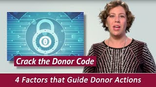 4 Factors to Help You Crack the Donor Code