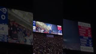 LA RAMS insanity during the NFL playoffs!  That was a wild one...