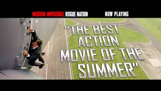 Mission: Impossible Rogue Nation - Now Playing