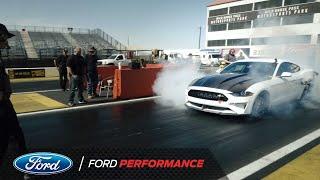 Ford Mustang Cobra Jet 1400 electric-powered drag racing car