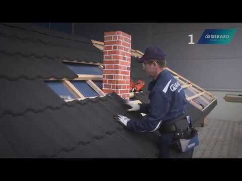 gerard chimney flashing installation youtube. Black Bedroom Furniture Sets. Home Design Ideas