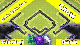 ✅Clash Of Clans: AMAZING TH9 DE Farming Base 2019 - Crows + An Epic Replay