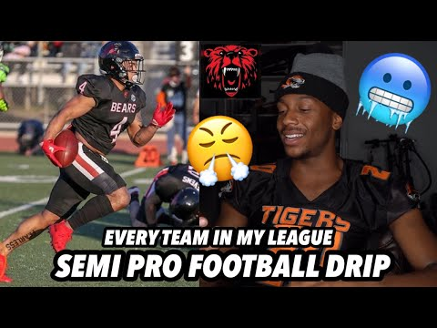 Rating The Gameday Drip Of Every Team In My Semi Pro Football League😎🔥