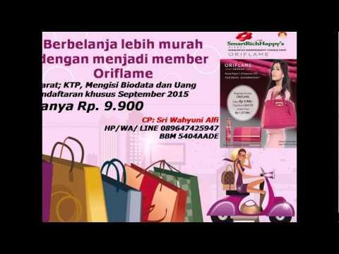 Promo Daftar Member Oriflame Edisi September Katalog 2015 Indonesia