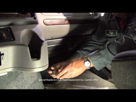 How to: Heavy Duty Cabin Air Filter Installation - 2006 Freightliner M-2  heavy-duty truck