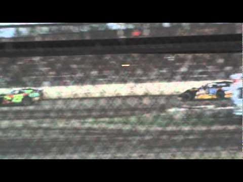 Racin' Jason Hastings #35 UMP Modified Heat Race Kankakee County Speedway 6-8-12
