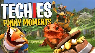 Afraid of Techies? - DotA 2 Funny Moments