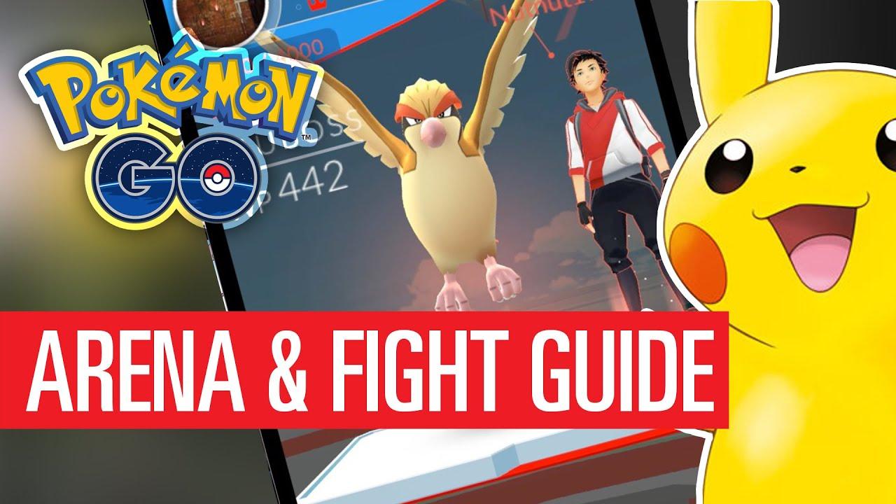Pokémon Go Arena Und Kämpfen Guide So Funktionierts Youtube