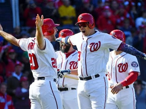Jose Lobaton hits three run homer, Nationals even NLDS with Dodgers