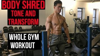 Shred fat and build muscle with this muscle building program