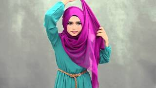 nylaa wide shawl video tutorial by chenta qaseh