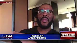 Fake giveaways using Tyler Perry's name