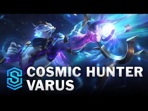Cosmic Hunter Varus Skin Spotlight - League of Legends