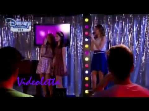 "Violetta 2 English - Girls singing ""Right Now"" at Karaoke Ep.64"