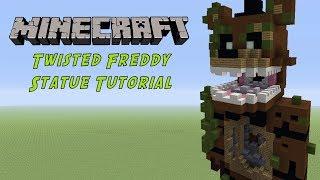 Minecraft Tutorial: Twisted Freddy (FNAF : The Twisted Ones) Statue