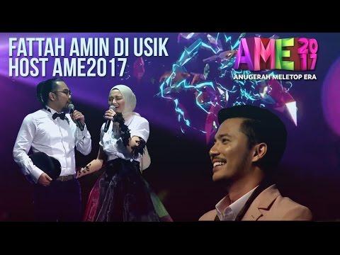 Fattah Kena Usik dengan Nabil, Johan & Neelofa dan Buat Lawak Suri Hati Mr. Pilot di #AME2017
