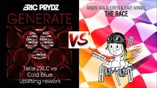 Armin van Buuren & Dave Winnel - The Race vs- Eric Prydz - Generate (Cadres Shup)