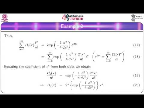 Generating function and recurrence relations (MATH)