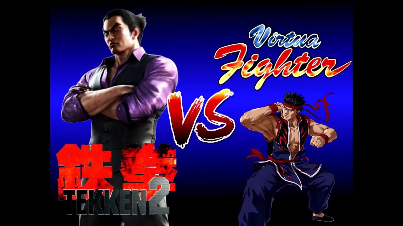 Virtua Fighter vs Tekken 2 HD Remix - Character Select ...