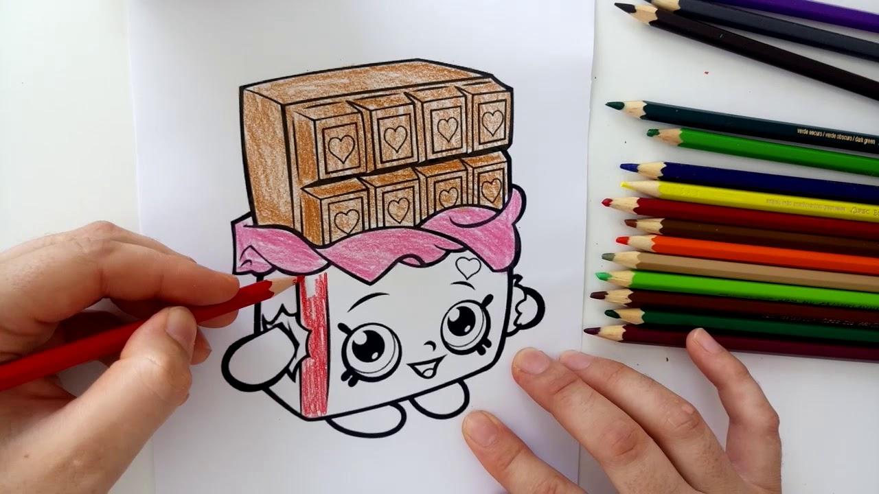 Cicibiciler Boyama Serisi Cikolata Boyama Oyunu Youtube